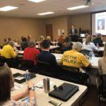 Senator Van Taylor at our June Meeting